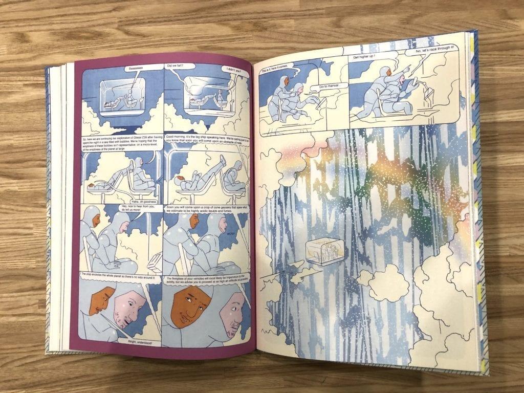 Fumetti dal Futuro: Parallel Lives di Olivier Schrauwen