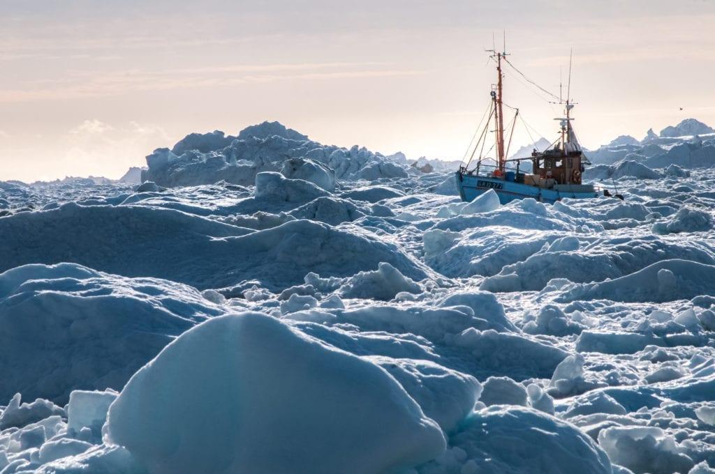 Outervisions: un mare di icebergs