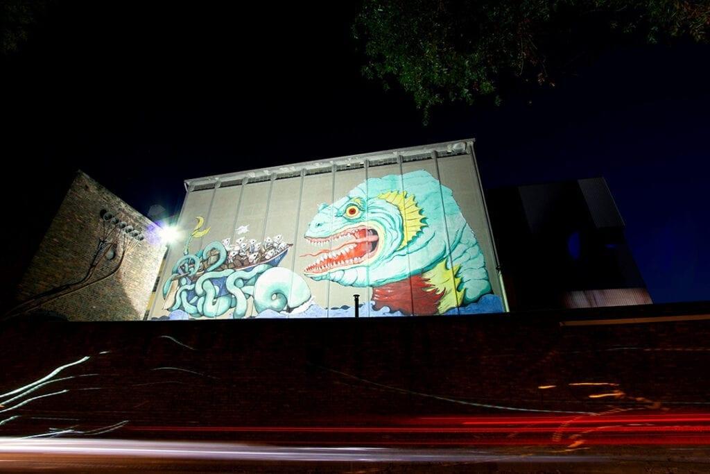 Urban art e natura sulle medianeras - Ericailcane