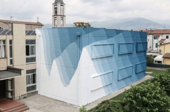 Urban art e natura sulle medianeras