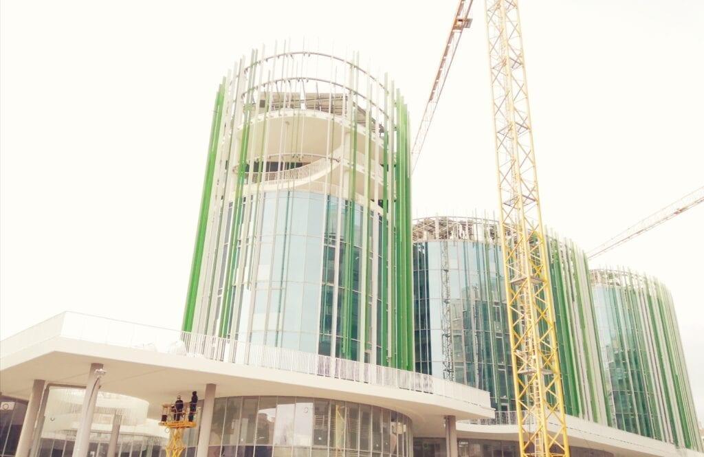 tetti verdi moderno